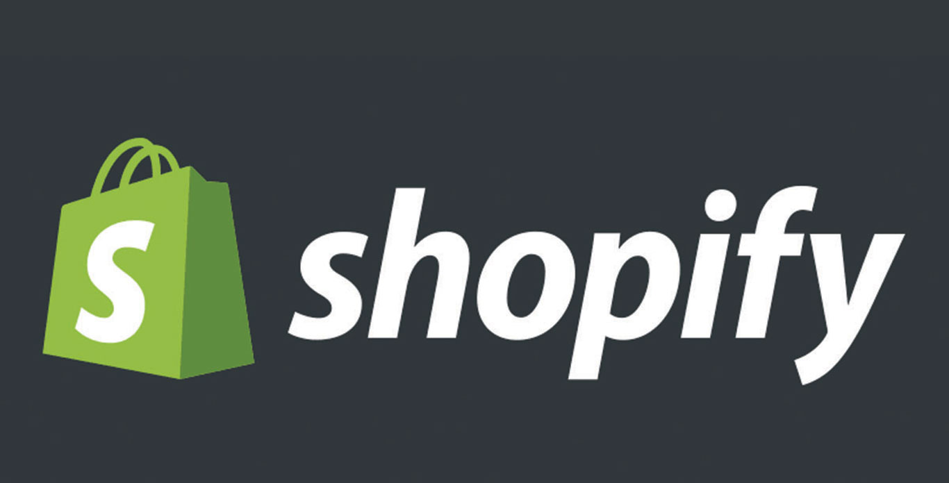 Online retailer service provider, Shopify's logo