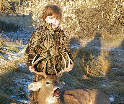 A look at the top photos of our young hunters from around the nation submitted to the Game & Fish Camera Corner...