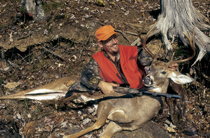 deer hunting, whitetail deer, hunter and deer, hunter with dead deer, whitetail deer hunting