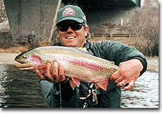 Winter Trout on the Blue River