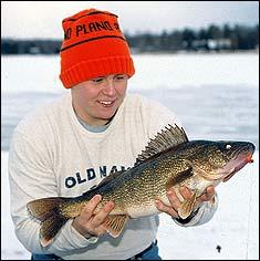 Wisconsin's Winter Walleye Waters