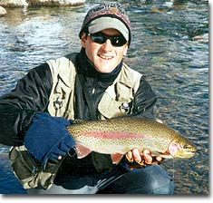 Contrary to the dour opinions of some Centennial State anglers, there are plenty of rivers offering quality rainbow trout fishing these days.
