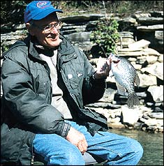 Countdown for Tennessee Crappie