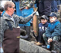 Trout Stocking in Pennsylvania