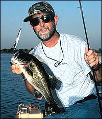 Drought devastated this once-fantastic bass fishery, but all was not lost -- things are definitely looking up for 2004.