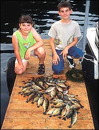 Fishing and family fun can combine to make a great vacation when you and yours visit these locations across the Great Plains.