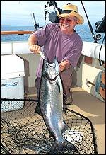 New York's Lake Ontario Fishing