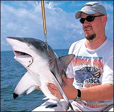 Inshore Sharks and Flounder in Carolina