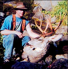 The spine of the Cascade Mountains can be raked with fire, fierce winds, snow, even blasts of lightning-packing thunderstorms. So, why would any respectable deer hunter want to be there? Read on.