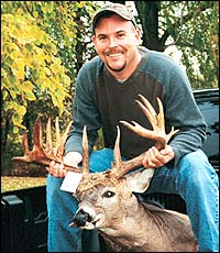 Sometimes trophy bucks show up at the darnedest times. Just ask Bay City's Don Baldwin.