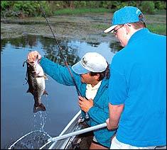 Savannah River Late Summer Bassin'