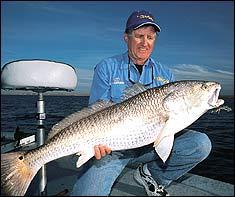 Fish the Jetties for Louisiana's Bull Reds