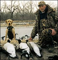 Pick a hunting spot at any of these Nebraska waterways this month, and you're sure to find yourself in the middle of some rewarding duck and goose shooting.