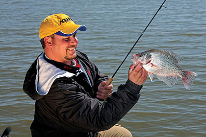 Alabama 39 s crappie hotspots for Crappie fishing in alabama