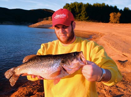 "Is this the year for an ""official"" world record? With drawdowns on the way, check out Cuyamaca and Jennings lakes rather than more popular waters in Southern California for your best shot at a lunker legend.  (February 2007)"