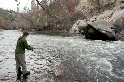 Central Valley Trout Hotspots