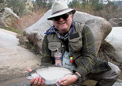 Trout fishing in Southern California switches from lowland reservoirs to high-mountain lakes in May. Here are your best options right now. (May 2009)