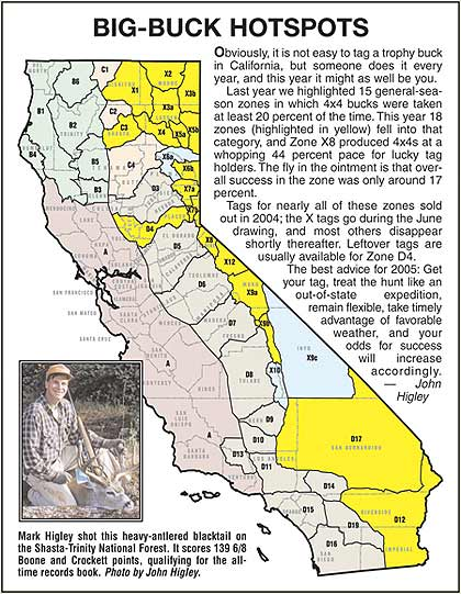 California Hunting Maps Submited Images
