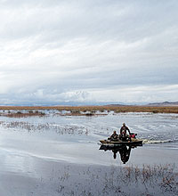 The northeastern waterfowl zone opens first for a reason: Ice and snow come early to the high desert. If you hit it right, so do the birds. Here are the best spots to try for ducks and geese.