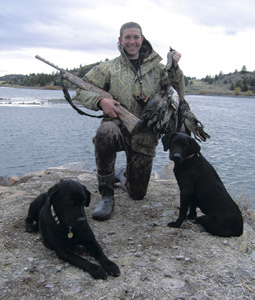 Mallards, geese and even pheasants keep hunters busy at Tule Lake and Lower Klamath wildlife refuges.  (December 2007)