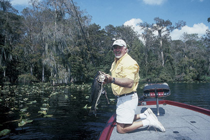 Here's what to expect this month on bass waters to the south of Orlando. The key to this summer's action will definitely be water levels! (July 2007)