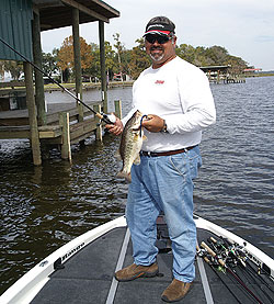 The temperature may be scalding this time of year in the Sunshine State, but the fish still bite. At least that's true on these North Florida lakes. (August 2009)