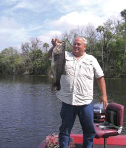 The stretch of the big river around Lake Woodruff in west Volusia County provides a glimpse of old Florida. But it also offers the chance to battle with some lunker largemouths! (October 2007)
