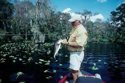 From one end of Florida to the other, December largemouth action can be outstanding. Especially if you try these lakes and tactics! (December 2006)