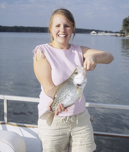 The Peach State is loaded with great waters for springtime crappie fishing. The spots reviewed here, however, should provide exceptionally hot action this year. (March 2008).