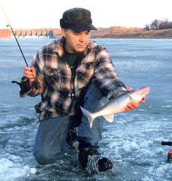 If you're serious about catching walleyes in the Dakotas this month, then check out one or more of these hardwater hotspots. (January 2009)