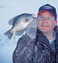 Iowa's panfish offer plenty of opportunities for midwinter ice-fishing -- but to be successful, you have to prepare. (January 2006)