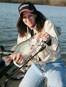 Iowa crappies uncovered for Iowa fishing lakes