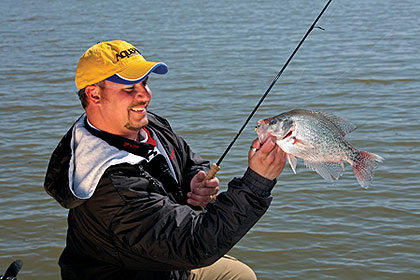 Iowa's premier crappie authorities rank the lakes they deem best for bringing home a stringer of slabs this year. (April 2010)