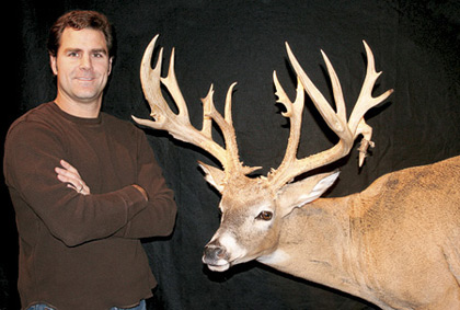 Steve DeWitt just wanted to spend some time with friends and family in Adams County last fall. He never dreamed it would lead to him arrowing one of the biggest bucks ever killed in Illinois. (July 2007)