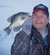 What does the crystal (ice) ball have in store for state anglers this winter season? Read on for top places to try right now. (January 2006)