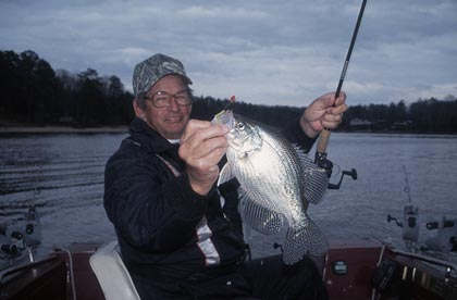 From north to south, east to west, here are some of our state's very best crappie waters for you to try. (February 2007)