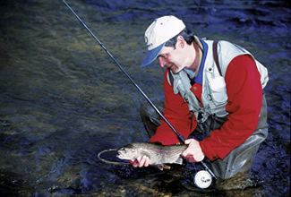 Here are three top streams in our state where you'll find trophy-class trout. Is one near you?