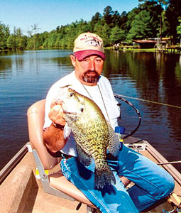 On Louisiana's spring crappie scene, one trend's obvious: Smaller is better. Tie on the tiniest bait you can find, and the action will be sure to follow. (April 2008)