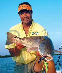The arrival of June marks the onset of one of the best times of year for pursuing redfish and speckled trout along the bayous, bays and marshes of southeast Louisiana. (June 2009)