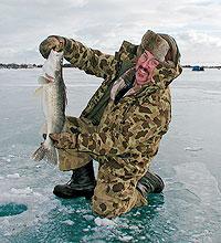 Michigan's Winter Walleye Wonderland