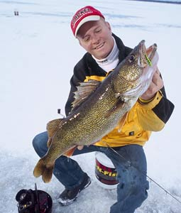 It takes a lot of hard work to find and catch a 10-pound walleye. But by ice-fishing on these waters, your quest for a wallhanger will be much easier. (January 2007)