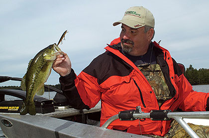Great Bass Fishing in the Great Lakes State!