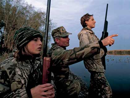 Joe Robinson, a waterfowl specialist for the Michigan DNR and an avid hunter, believes 2008 could shape up to be one of the best waterfowl seasons in history. (October 2008)