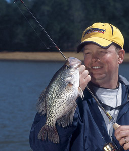 When the ice goes out, that means it's time for the best crappie fishing of the year in Minnesota. These waters are expected to be hot this spring. (March 2007)
