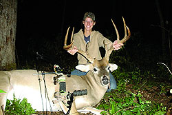 The 2007-08 deer seasons in Missouri produced no shortage of massive whitetail bucks. Here are the inside stories of five of last year's biggest bruisers -- and of the hunters who brought them home.
