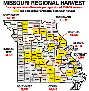 Missouri's 2008 Deer Outlook -- Part 1: Our Best Hunting Areas