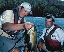 Carolina's Best River Smallmouth Fishing