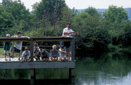 There's an almost endless number of destinations in North Carolina that combine family vacations and family fishing. Here are a few you shouldn't overlook. (June 2007)