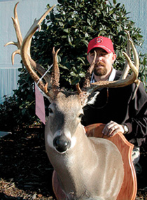 Last season, Roanoke Rapids native Brent Mabrey killed the biggest buck ever taken in North Carolina with a bow. Here's the story behind this great buck. (July 2006)
