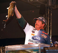 David Fritts gets the lead out in the summer for better bass fishing mileage. Here's how he approaches North Carolina largemouths this summer. (August 2009)